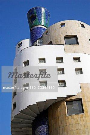 The distinctive Le Triomphe cinema on Rue du Prince Moulay Abdallah,Casablanca.