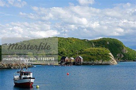 Norvège, Nordland, Helgeland, île de Rodoy. Village traditionnel de pêcheurs côtiers sur l'île de Rodoy