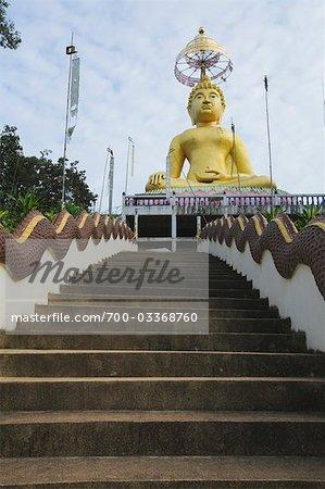 Wat Koh Pha Kham, Chiang Saen, Province de Chiang Rai, Thaïlande
