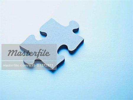 Ein Jigsaw Puzzlespielstück