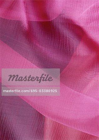 Rose en mousseline de soie, gros plan, plein cadre