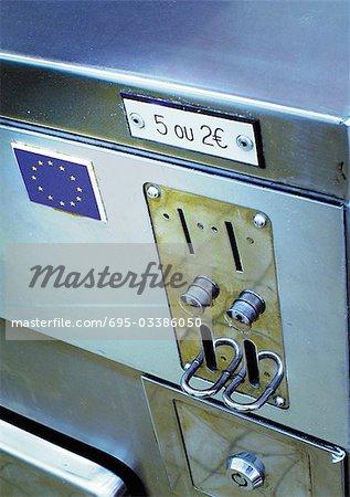Euro sign on change slot