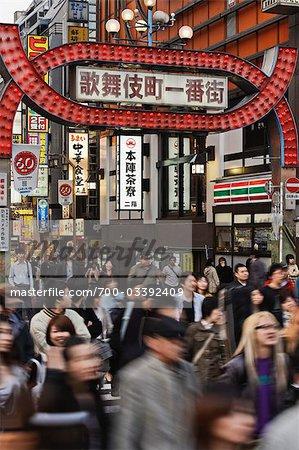 Kabukicho, Shinjuku, Tokio, Kanto-Region, Honshu, Japan
