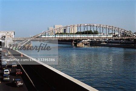 Austerlitz Viaduct, Paris, France