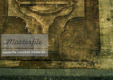 Architektonische Detail, Teilansicht, Nahaufnahme