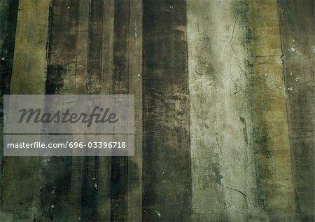 Bemalte Spalte, close-up