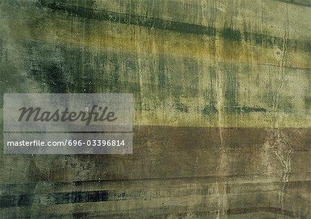 Surface peinte usé, gros plan