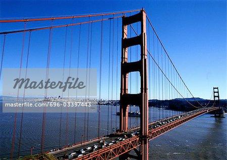 USA, California, San Francisco, Golden Gate bridge.
