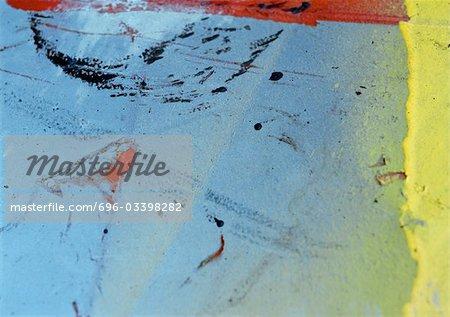 Surface texturée coloré