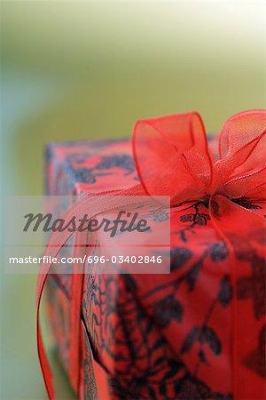 Christmas present, detail
