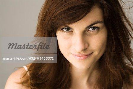 Jeune femme, portrait