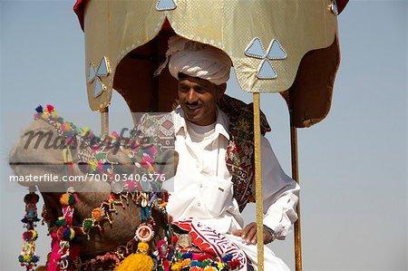 Chameau Fair, Jaisalmer, Rajasthan, Inde