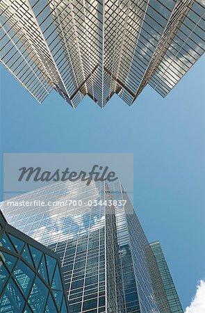 Gratte-ciels, Toronto, Ontario, Canada