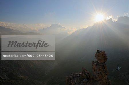 Croda Rossa d ' Ampezzo, Dolomiten, Südtirol, Trentino Alto Adige, Italien