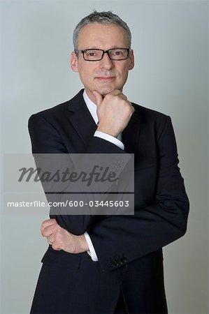 Porträt des Kaufmanns