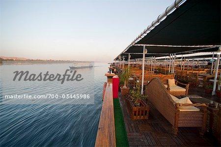 Nil, Assouan, Égypte