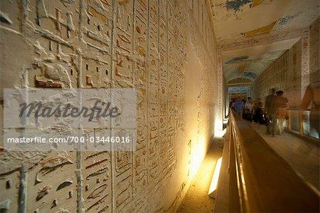 Hierogylphs, Luxor, Egypt