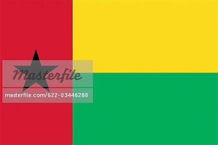 Drapeau National de la Guinée-Bissau