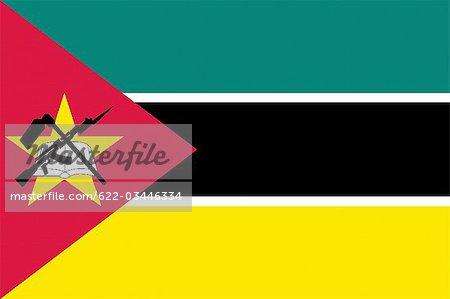 Drapeau National du Mozambique
