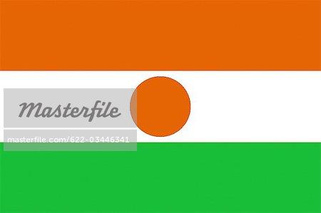 Drapeau National Niger