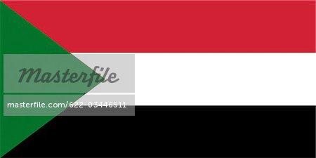 Drapeau National au Soudan