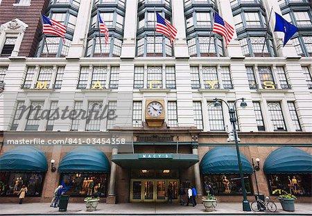 Macy's Department Store, Broadway, Manhattan, New York City, New York, United States of America, North America