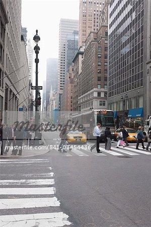 Broadway, Manhattan, New York City, New York, États-Unis d'Amérique, l'Amérique du Nord