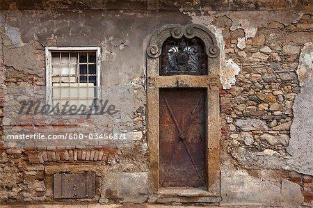 Doorway, Zagreb, Croatia