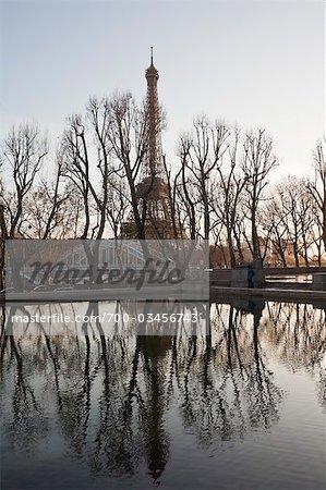 La tour Eiffel, 7ème Arrondissement, Paris, Ile-de-France, France