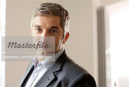 Homme d'affaires, portrait