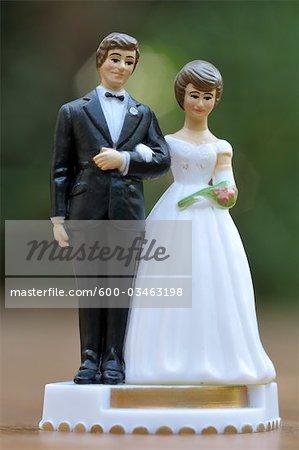 Gâteau de mariage Topper