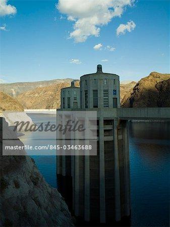 Hoover Dam l'eau turbine tours