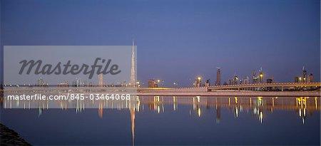 Burj Khalifa (Burj Dubaï), Dubai, Émirats Arabes Unis.