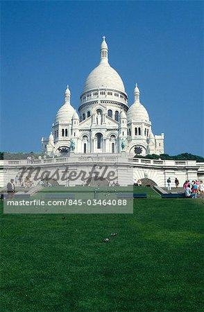 Sacré-Coeur, Montmartre, Paris, 1876-1923. Architectes : Paul Abadie