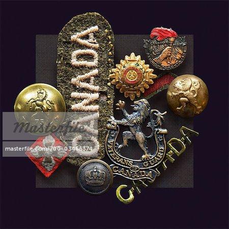 WW2 Souvenirs des Forces armées canadiennes