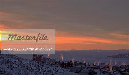 Sunrise, Iqaluit, Baffin Island, Nunavut, Canada