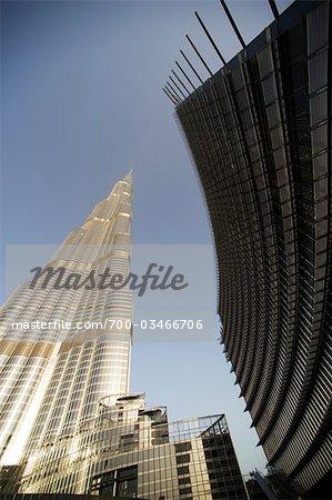 Burj Khalifa, Dubai, Émirats Arabes Unis