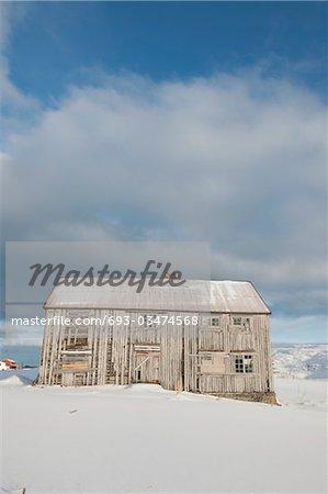 Murés house à Fredvang, Moskensoy, Loftofen, Norvège