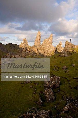 Le vieil homme de Storr, The Storr,-Isle de Skye, Hébrides intérieures, west coast, Ecosse, Royaume-Uni, Europe