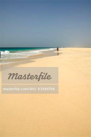 Afrique, Atlantique, Boa Vista, Cap-vert, Praia de Santa Monica (Santa Monica Beach)