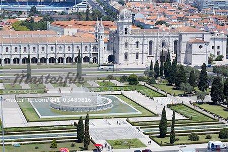 Mosteiro dos Jerónimos (monastère des Hiéronymites), datant du XVIe siècle, patrimoine mondial UNESCO, Belem, Lisbonne, Portugal, Europe