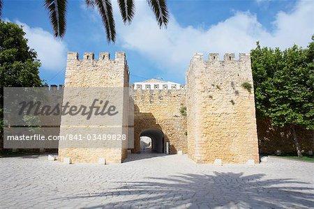 Vieux mur défensif, Lagos, ouest de l'Algarve, Algarve, Portugal, Europe