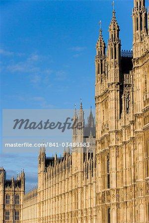 Maisons du Parlement, Westminster, patrimoine mondial de l'UNESCO, Londres, Royaume-Uni, Europe