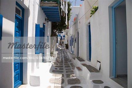 Chora, Mykonos, Cyclades, îles grecques, Grèce, Europe