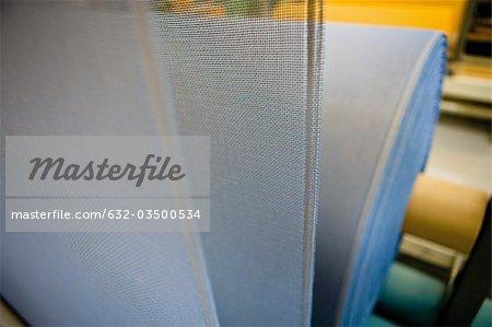 Tissu de revêtement plante, département de tissage textile composite recyclable, tissu composite