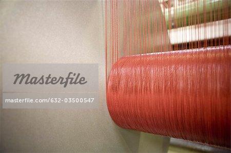 Usine de revêtement tissu, textile composite recyclable tissage département, métier à tisser, faisceau de weaver