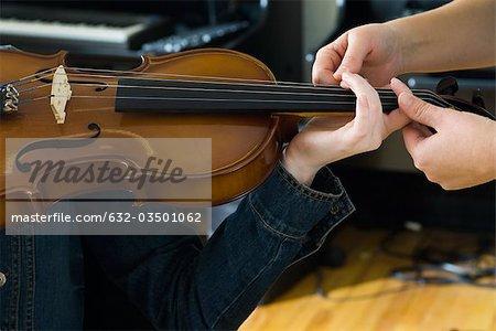 Geige spielen lernen