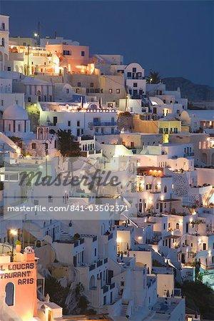 Fira, Santorini, Cyclades, Greek Islands, Greece, Europe
