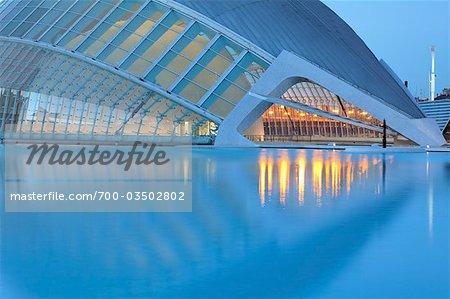 L'Hemisferic, cité des Arts et Sciences, Valence, Espagne