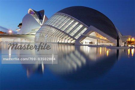 Stadt der Künste und Wissenschaften, Valencia, Spanien